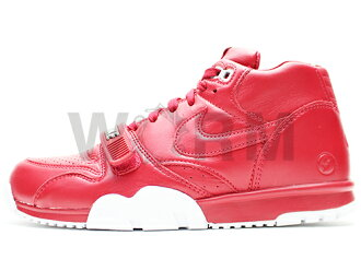 NIKE AIR TRAINER 1 MID SP / FRAGMENT 806942-661 gym red/gym red-white 에아트레이나미사용품