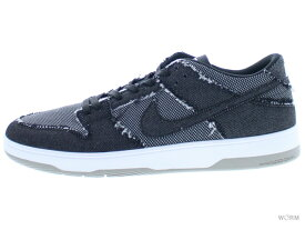 c4a2eb2763da4 中古 NIKE SB ZOOM DUNK LOW ELITE QS 877063-002 black black-white-medium grey  ナイキ ダンク 未使用品 中古