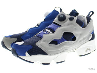 "Reebok INSTAPUMP FURY AFFILIATES ""BEAMS"" ar1840 navy/white/royal/grey Reebok pump fury unread items"