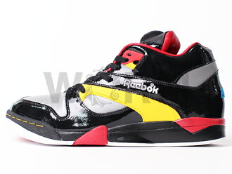 "Reebok COURT VICTORY PUMP ""VOLTRON"" 6-172294 blk/silv/red/ylw/wht/blue Reebok unread items"