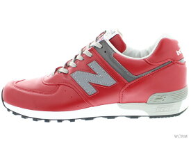 "NEW BALANCE M576 RED ""Made in England"" red ニューバランス 未使用品【中古】"