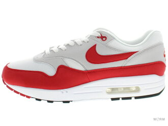 NIKE AIR MAX 1 ANNIVERSARY 908,375-100 white/university red Air Max-free article