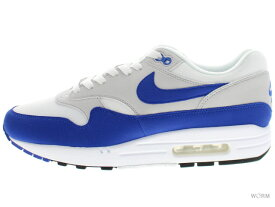 NIKE AIR MAX 1 ANNIVERSARY 908375-101 white/game royal-neutral grey ナイキ エア マックス 未使用品【中古】