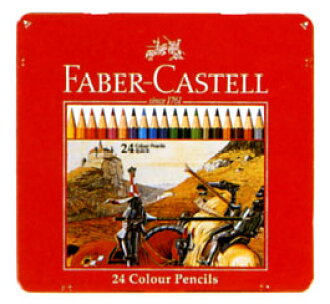 Faber-Castell ' color pencil 24-color set (TFC-CP/24 C) ""