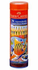 ファーバーカステル 水彩色鉛筆 丸缶 36色セット TFC-115936