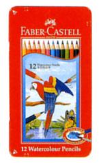 ファーバーカステル「水彩色鉛筆 12色セット(TFC-WCP/12C)」