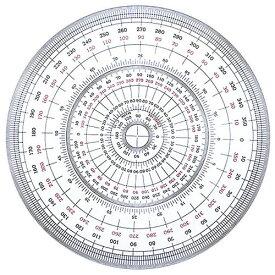 全円分度器 25cm C-25 25-0330