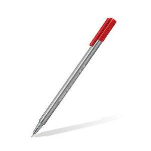 ステッドラー トリプラス ファインライナー 細書きペン 0.3mm 単色ネオンブルー 10本入り 334-301