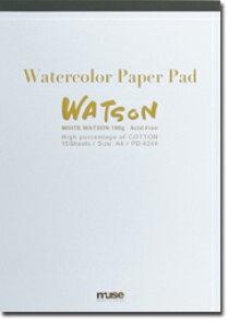 ミューズ ホワイトワトソン PDパッド A4 15枚 PD-6244