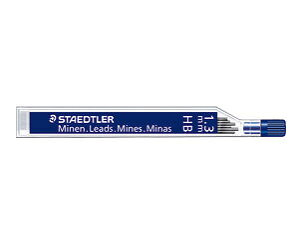 ステッドラー「1.3mmシャープペンシル用芯(6本入)」(250 13-HB)