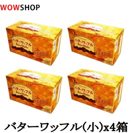 【送料無料】バターワッフル(小)x4箱セット/お菓子/韓国食材/バターワプル/スナック/おつまみ/韓国産/韓国菓子/CROWN