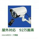 SDカード録画機能、赤外線LED(15m)搭載 92万画素 屋外用防雨型防犯カメラ OL-022W (ip55 ol022w ハイビジョン …