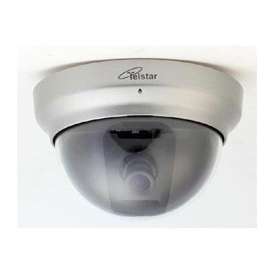 ダミーカメラ 【TD-2600】 TELSTAR ドーム型ダミー防犯カメラ本物の防犯カメラTR-2400CDと同筐体を使用(ダミーセキュリティ 防犯用 td2400 td2600)