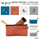 【再入荷】【w.p.c】ミッキーマウス / リトルmini 【折りたたみ傘・ディズニー】