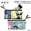 【再入荷】【w.p.c】ディズニー/コミックスmini【折りたたみ傘・ディズニー】