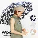 【Wpc.公式】 マグノリア 【傘 雨傘 長傘 雨晴兼用 レディース】