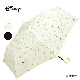 ギフト対象 Wpc. ディズニー 折りたたみ傘 2種類 プリンセス ベル 白雪姫 Disney ミニ 撥水 はっ水 雨傘 晴雨兼用 レディース 雨 おしゃれ モチーフ ドット 美女と野獣 薔薇 林檎 送料無料
