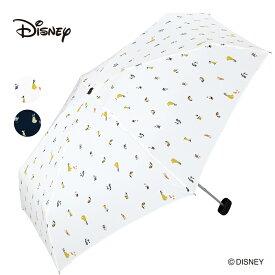 ギフト対象 Wpc. ディズニー 折りたたみ傘 2種類 プリンセス 白雪姫 七人の小人 Disney ミニ 傘 撥水 はっ水 雨傘 晴雨兼用 UVカット レディース 女性 雨 おしゃれ ドット 送料無料