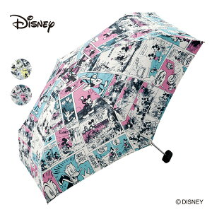 傘折りたたみ雨傘晴雨兼用ポーチWpc.ミッキー&フレンズコミックスminiディズ二ーdisneyuvカットデザインギフトおしゃれプレゼント公式ワールドパーティーファッションWpc.