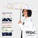 Wpc. 折りたたみ傘 4種類 スイートピー オリーブ SWEET PEA mini 撥水 はっ水 傘 雨傘 UVカット 晴雨兼用 日傘 レデ…