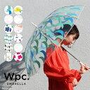 【Wpc.公式】 ビニール傘 【傘 雨傘 長傘 レディース】