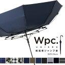 【Wpc.公式】 雨傘 ウィンド レジスタンス アンブレラ 傘 長傘 ジャンプ傘 耐風 強風 65cm はっ水 撥水 メンズ レディ…