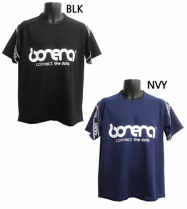 ボネーラ テープロゴプラシャツ