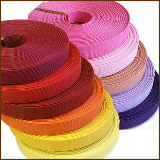 """Paper band (craft band) 10m """"warm pink system"""""""
