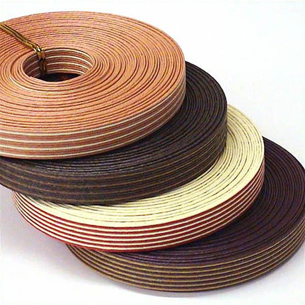 紙バンド(クラフトバンド・クラフトテープ)10mコンビストライプ12本取