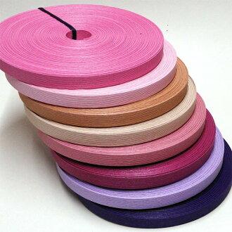 """不是纸带(选秀带·选秀带子)30m卷""""粉红·紫派""""《注释》HAMANAKA环保选秀"""