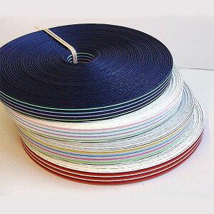 ストライプ紙バンド(クラフトバンド・クラフトテープ)12本取り☆マルチストライプ:30m巻☆