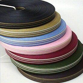 紙バンド(クラフトバンド・クラフトテープ)30m巻 ストライプ13本取