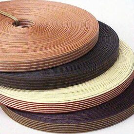 紙バンド(クラフトバンド・クラフトテープ)コンビストライプ12本取 1巻30m