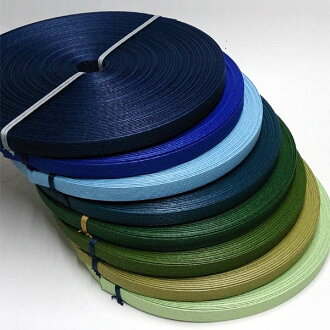 "Paper band (craft band) 50m ""blue green system"""
