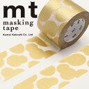 マスキングテープ mt カモ井加工紙mt x ミナ ペルホネンsoda water・gold(35mmx10m)MTMINA32