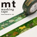 マスキングテープ  mt カモ井加工紙 mt ex 1p サファリパーク(20mmx10m)MTEX1P115