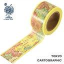 マスキングテープ  東京カートグラフィックシック(24mmx10m)