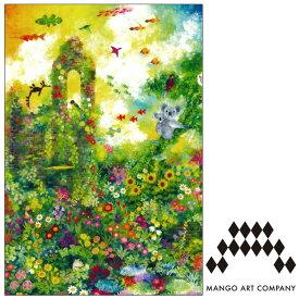 ポストカード MANGO ART COMPANY Natsuki Wakita 上風