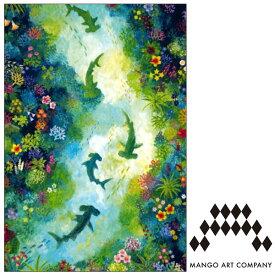 ポストカード MANGO ART COMPANY Natsuki Wakita シュモクザメ