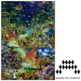 ポストカード MANGO ART COMPANY Natsuki Wakita キリン
