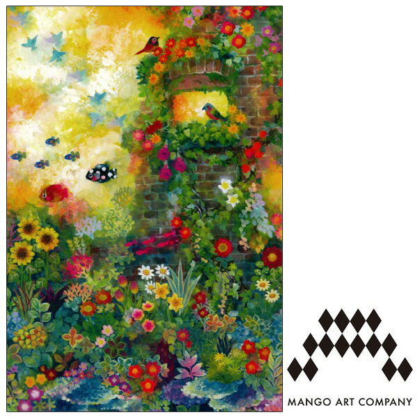 ポストカード MANGO ART COMPANY Natsuki Wakita 日差し