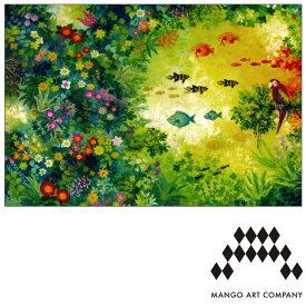 ポストカード MANGO ART COMPANY Natsuki Wakita オウム