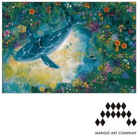 ポストカード MANGO ART COMPANY Natsuki Wakita クジラ