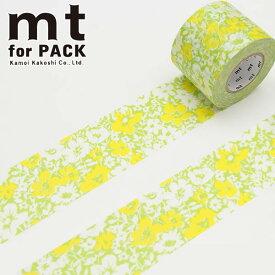 梱包用粘着テープ 幅広mt カモ井加工紙mt for PACK 花柄(45mm×15m)MTPACK04