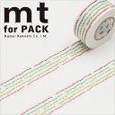 梱包用粘着テープ 幅広 mt カモ井加工紙 mt for PACK 縫い目(25mm×15m)MTPACK07