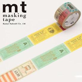 マスキングテープ mt カモ井加工紙mt fab チケット(20.25mm×3m)MTDP1P02