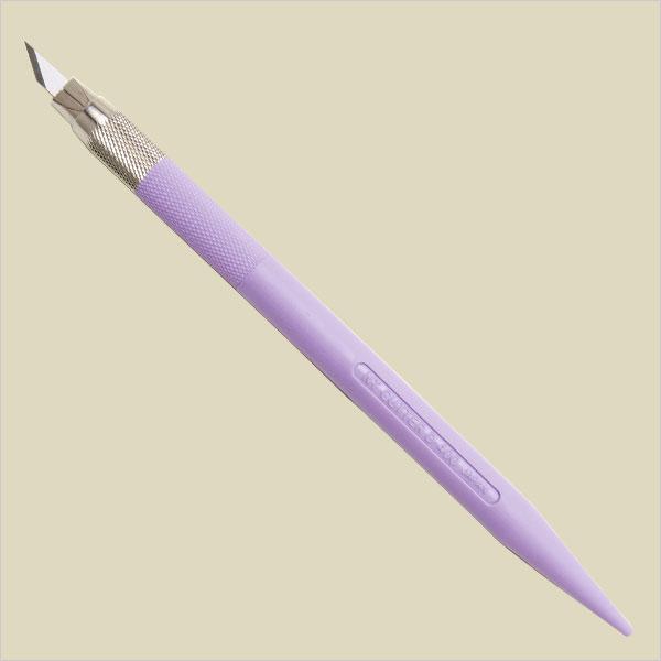 NTカッター デザインナイフ バイオレット D-401P-V (デザインカッター)
