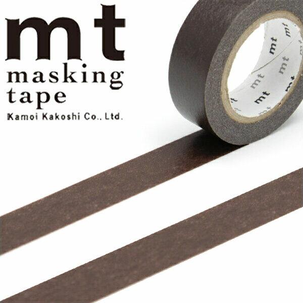 マスキングテープ mt カモ井加工紙 mt1P 無地 ココア (15mmx10m) MT01P203・1巻