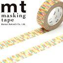 マスキングテープ mt カモ井加工紙mt1Pブロック・ピンク (15mmx10m)MT01D220・1巻