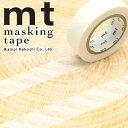 マスキングテープ マステ mt カモ井加工紙 mt 1P (15mmx10m)MT01D379 ストライプ ホワイト